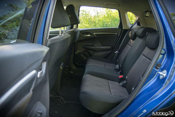Honda Jazz - wnętrze - 14