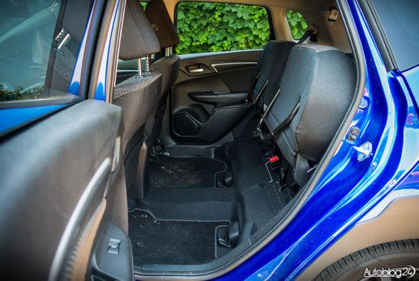 Honda Jazz - wnętrze - 15