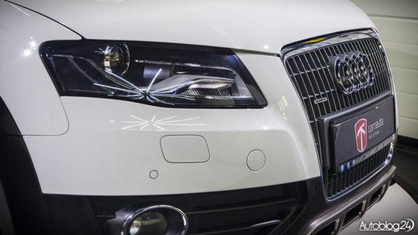 Przód Audi - mycie