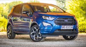 Ford EcoSport 1.0 EcoBoost 140 KM ST-Line – TEST