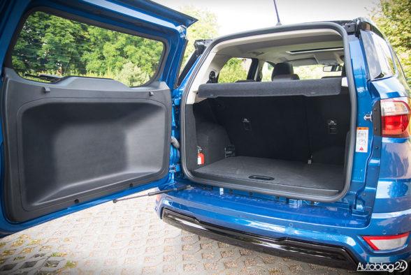 Ford EcoSport - wnętrze - 15