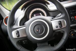 Renault Twingo GT - wnętrze - 04