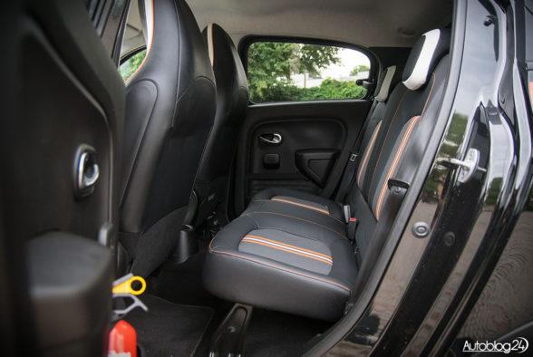 Renault Twingo GT - wnętrze - 10