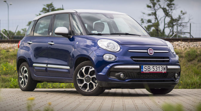 Fiat 500L 1.6 MultiJet 120 KM Mirror. Oryginalny minivan – TEST