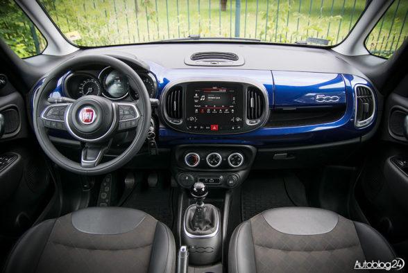 Fiat 500L - wnętrze - 01