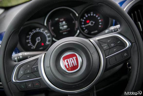 Fiat 500L - wnętrze - 04