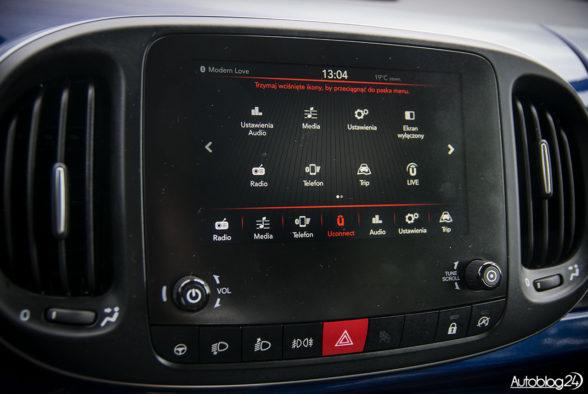 Fiat 500L - wnętrze - 07