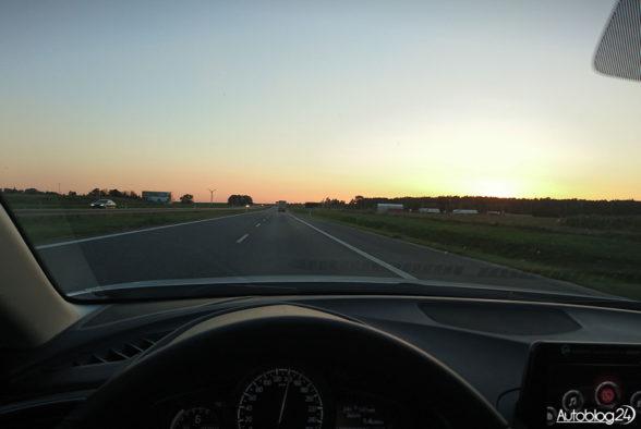 Mazda 3 - autostrada