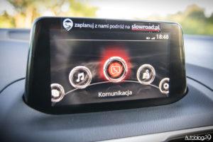 Mazda 3 - wnętrze - 09