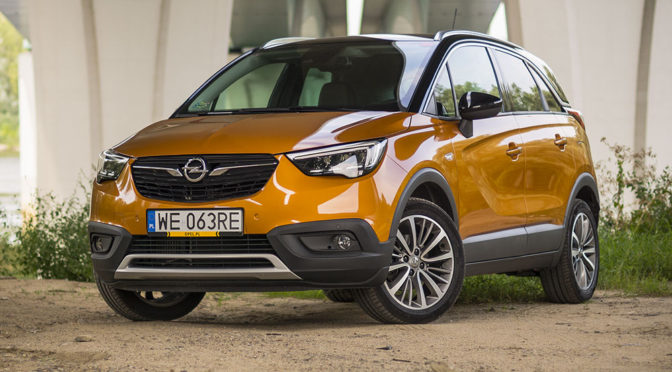Opel Crossland X 1.2 Turbo 130 KM Elite. Komfortowy crossover - TEST