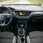 Opel Crossland X - wnętrze - 01