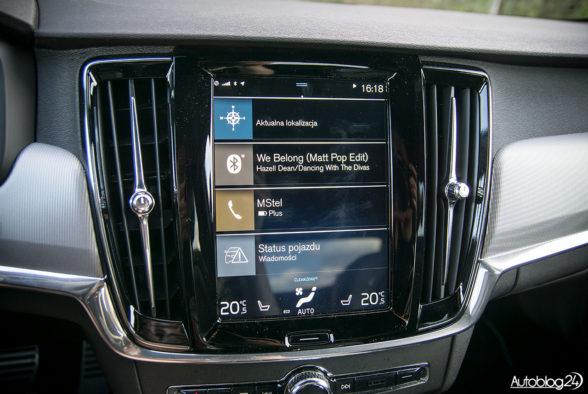 Volvo S90 R-Design - wnętrze - 06
