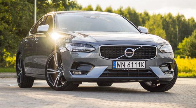 Volvo S90 T5 R-Design. Luksus z domieszką sportu – TEST