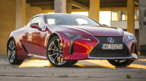 Lexus LC 500 5.0 V8 477 KM SuperTurismo. Kosmiczne coupe – TEST