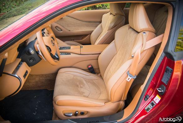 Lexus LC 500 - wnętrze - 11