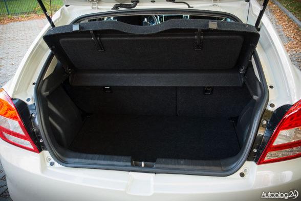 Suzuki Baleno - wnętrze - 12