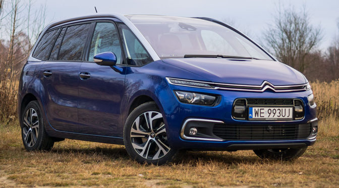Citroen Grand C4 SpaceTourer 2.0 BlueHDi 160 Shine - TEST