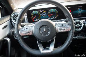 Mercedes Klasa A - wnętrze - 02