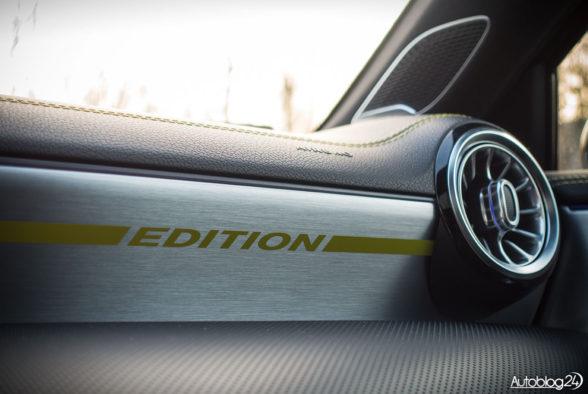 Mercedes Klasa A - wnętrze - 09
