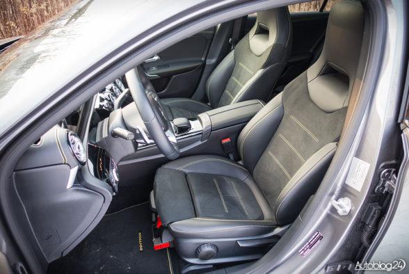 Mercedes Klasa A - wnętrze - 10