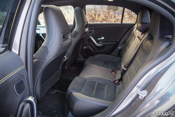Mercedes Klasa A - wnętrze - 11