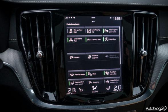 Volvo V60 - wnętrze - 05