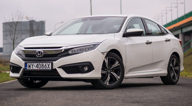 Honda Civic X 4D (sedan) 1.5 VTEC Turbo 182 KM Executive – TEST