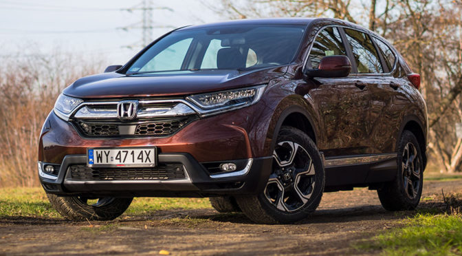Honda CR-V 1.5 VTEC Turbo 193 KM CVT AWD – TEST