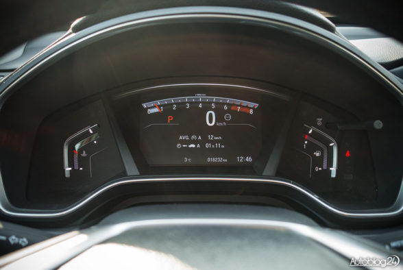 Honda CR-V - wnętrze - 03