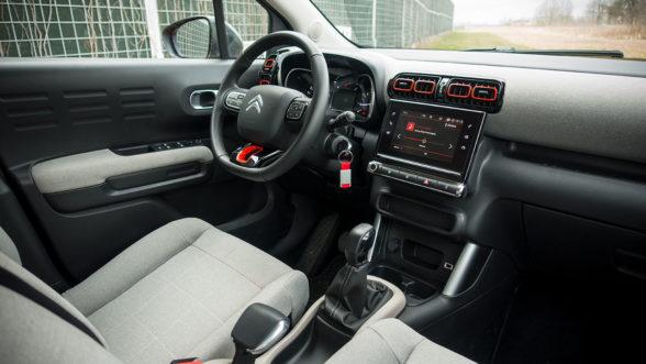 Citroen C3 Aircross 2019 - wnętrze