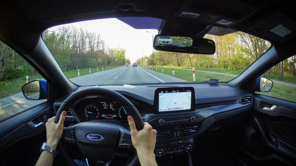 Ford Focus ST-Line - jazda