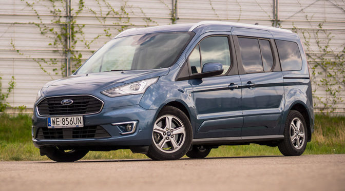 Ford Tourneo Connect Grand 1.5 EcoBlue 120 KM Titanium – TEST (2019)