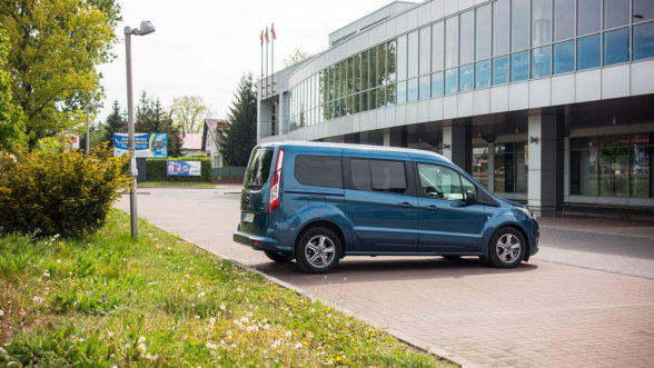 Ford Tourneo Connect - parking