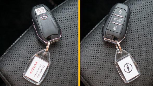 Opel Crossland X 2019 - kluczyk