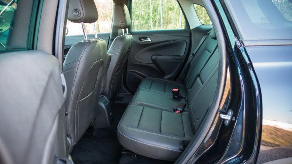 Opel Crossland X 2019 - tylna kanapa