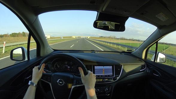 Opel Mokka X 2019 - autostrada A2