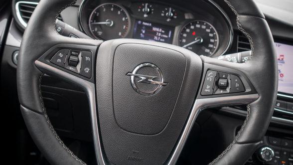 Opel Mokka X 2019 - kierownica