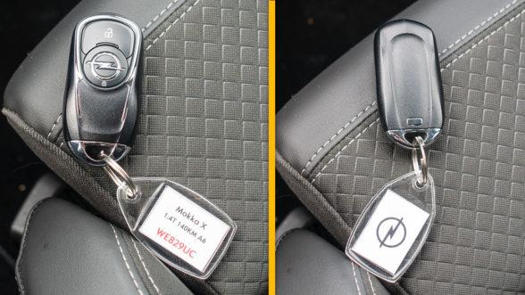 Opel Mokka X 2019 - kluczyk