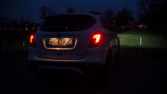 Opel Mokka X 2019 - światła tył