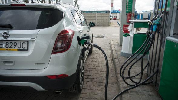 Opel Mokka X 2019 - tankowanie
