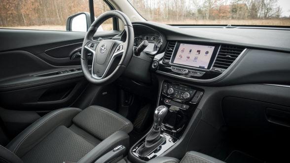 Opel Mokka X 2019 - wnętrze