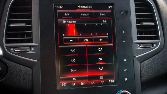 Renault Megane RS 2019 - klimatyzacja