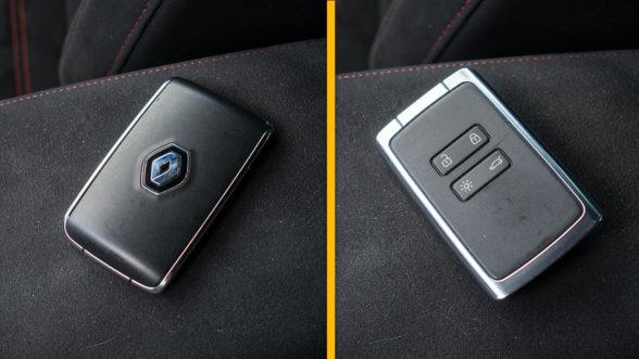 Renault Megane RS 2019 - kluczyk