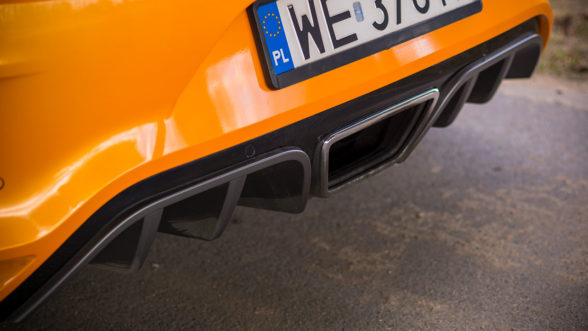 Renault Megane RS 2019 - rura wydechowa