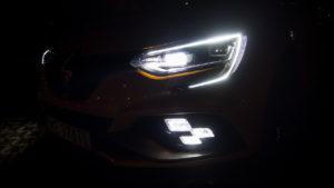 Renault Megane RS 2019 - światła przód