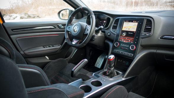 Renault Megane RS 2019 - wnętrze