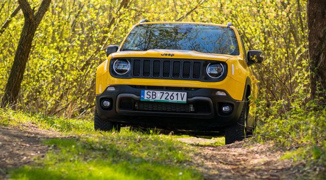 Jeep Renegade Trailhawk na Szlaku Orlich Gniazd (2019) – TEST