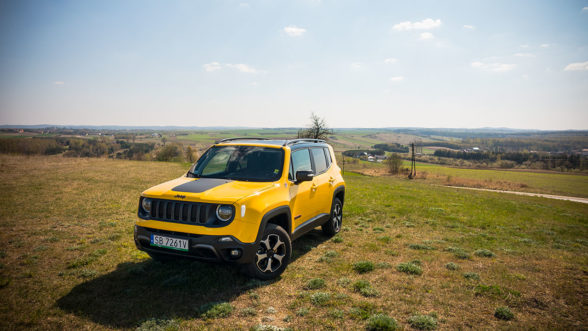 Jeep Renegade Trailhawk - Mokrzesz