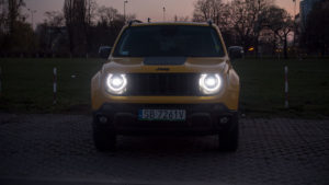 Jeep Renegade Trailhawk - noc przód