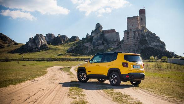 Jeep Renegade Trailhawk - zamek Olsztyn